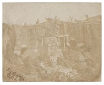 * Salt Prints. A group of 6 salt prints, 1850s