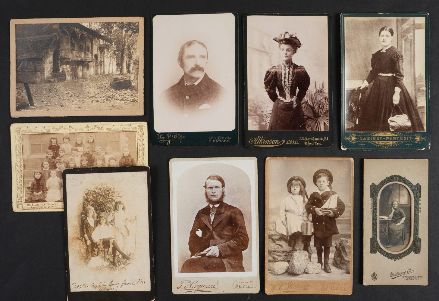 * Cartes de Visite. A collection of approx. 140 albumen print cartes de visite, 1860s and later - Image 11 of 21