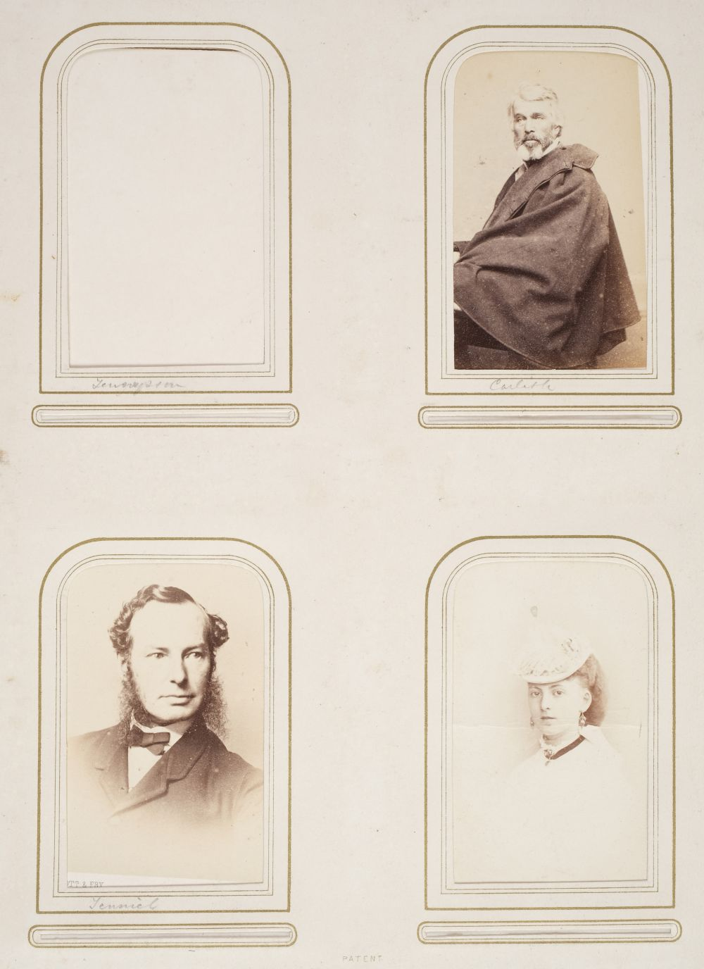 * Cartes de visite. A group of 3 albums of cartes de visite and cabinet cards - Image 5 of 26