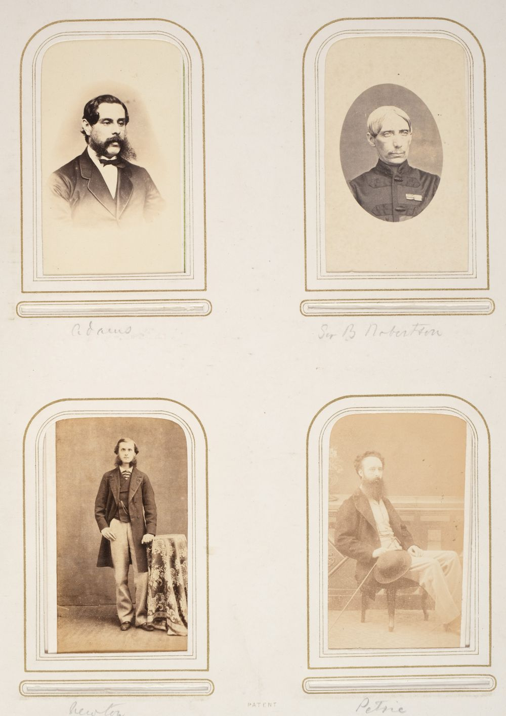 * Cartes de visite. A group of 3 albums of cartes de visite and cabinet cards - Image 13 of 26