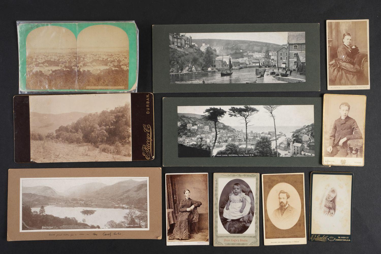 * Cartes de Visite. A collection of approx. 140 albumen print cartes de visite, 1860s and later - Image 16 of 21