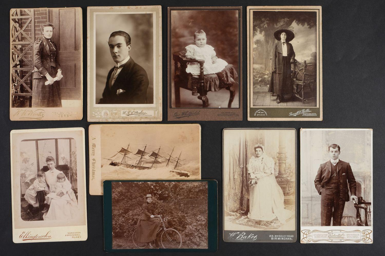 * Cartes de Visite. A collection of approx. 140 albumen print cartes de visite, 1860s and later - Image 2 of 21