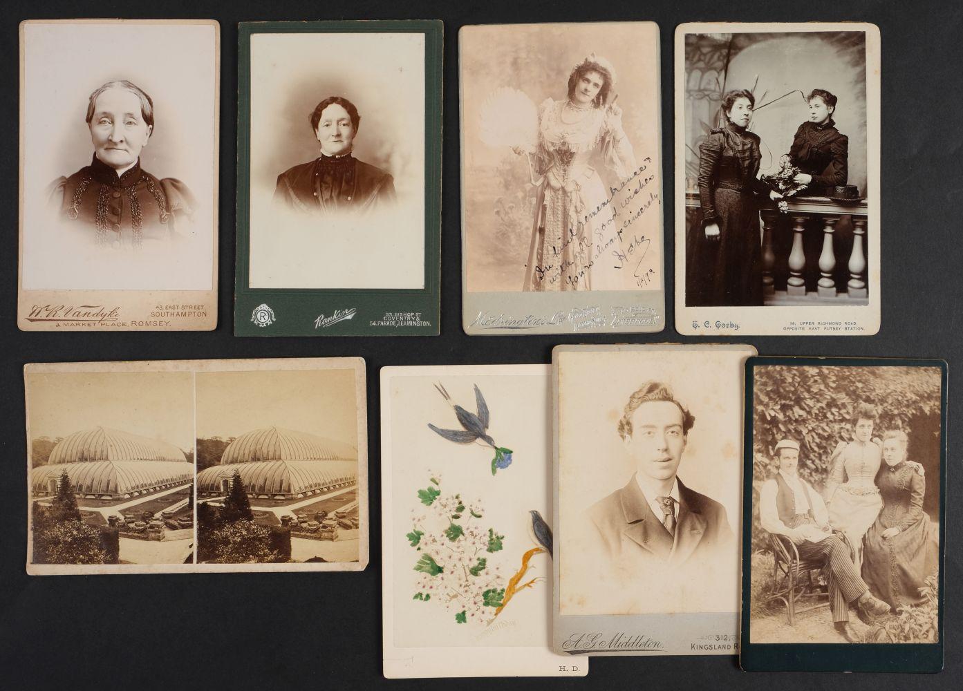 * Cartes de Visite. A collection of approx. 140 albumen print cartes de visite, 1860s and later - Image 12 of 21