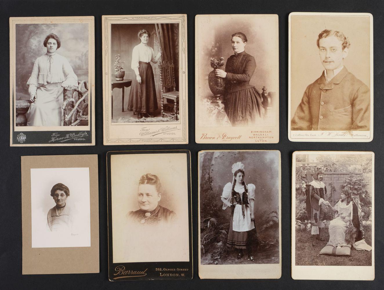 * Cartes de Visite. A collection of approx. 140 albumen print cartes de visite, 1860s and later - Image 3 of 21