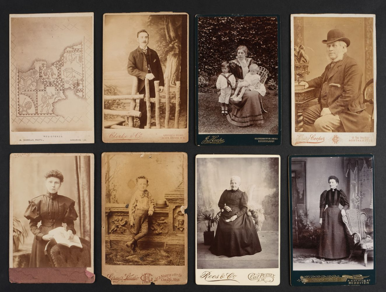 * Cartes de Visite. A collection of approx. 140 albumen print cartes de visite, 1860s and later - Image 8 of 21