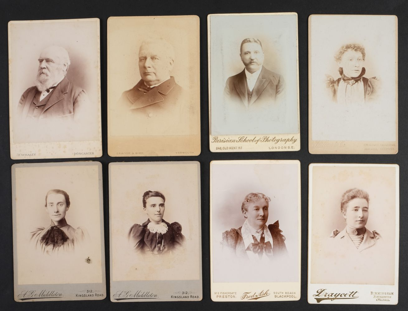 * Cartes de Visite. A collection of approx. 140 albumen print cartes de visite, 1860s and later - Image 13 of 21