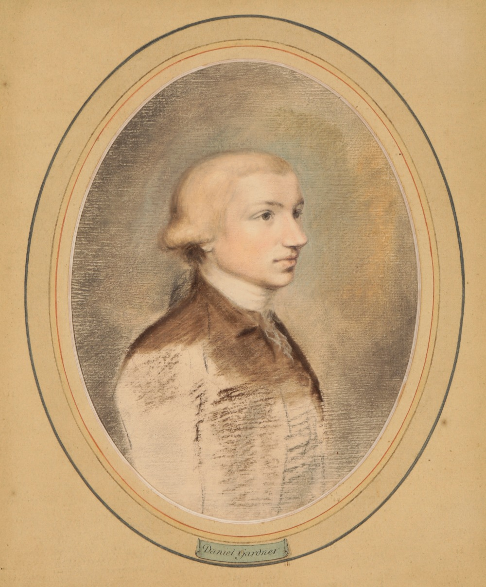 Lot 169 - ATTRIBUTED TO DANIEL GARDNER (c. 1750-1805) A portrait of a young man