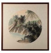 KAO SHENG-CHEIH (TAIWANESE, 20TH CENTURY), MOUNTAINS AND BAMBOO