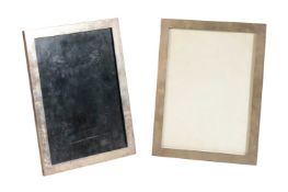 TWO CHINESE EXPORT SILVER PHOTOGRAPH FRAMES, HUNG CHONG, EARLY 20TH CENTURY