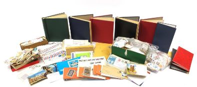 Extensive collection of 19th century and later world stamps and postal history, some arranged in