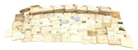 Collection of 19th century and later postal history