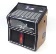 Retro NSM juke box model City-O, 110cm H x 95cm W x 61cm D