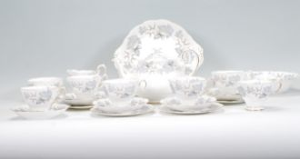 A Royal Albert bone china part tea service in the