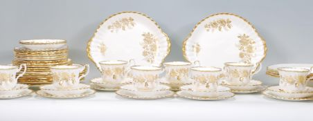 A Royal Albert ' Snow Queen ' part dinner service comprising dinner plates and tureen together