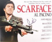 "AL PACINO - SCARFACE - SIGNED 8X10"" COLOUR PHOTOGR"