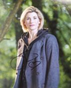 """JODIE WHITTAKER - DOCTOR WHO - AUTOGRAPHED 8X10"""" P"""