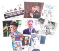 AUTOGRAPHS - BRITISH ACTORS & ACTRESSES