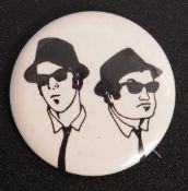 THE BLUES BROTHERS ORIGINAL CREW GIFT PIN BADGE