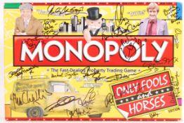 ONLY FOOLS & HORSES - CAST AUTOGRAPHED MONOPOLY SE