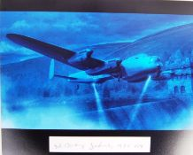 WWII DAMBUSTERS - GEORGE JOHNNY JOHNSON SIGNED PHOTO