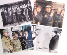 DADS ARMY - SELECTION OF SIGNED / AUTOGRAPHED PHOTOS