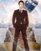 "DAVID TENNANT - DOCTOR WHO - SIGNED 8X10"" PHOTOGRA"