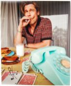 BRAD PITT - ONCE UPON A TIME IN HOLLYWOOD - SIGNED