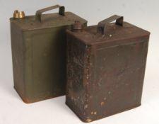 WWII SECOND WORLD WAR SHELL PETROL CANS - WAR DEPA