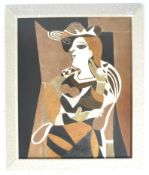 AFTER PABLO PICASSO A POLYMER PRINT OF MARIE-THERE