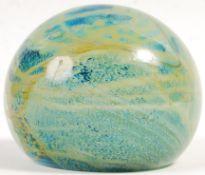MDINA SAND & SEA MALTESE SWIRL STUDIO ART GLASS PA