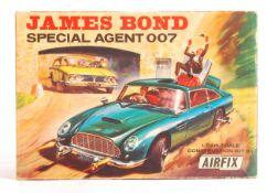 ORIGINAL 1960'S AIRFIX JAMES BOND SPECIAL AGENT DB5 KIT