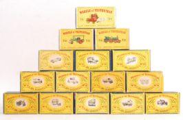 COLLECTION OF VINTAGE MATCHBOX LESNEY MODELS OF YE
