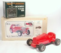 RARE VINTAGE YU-CAN 1/8 SCALE RADIO CONTROLLED CAR