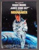 JAMES BOND 007 - ROGER MOORE AUTOGRAPHED MOONRAKER