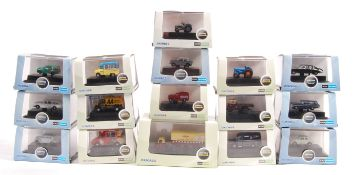 COLLECTION OF OXFORD DIECAST N GAUGE BOXED MODELS