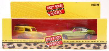 CORGI ONLY FOOLS & HORSES CC99111 DOUBLE MODEL SET