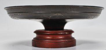 A 19th Century Oriental bronze centrepiece bowl /
