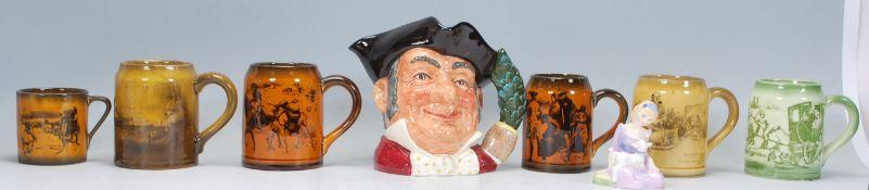 A Royal Doulton toby character jug entitled Mine H