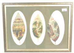 A framed and glazed believed 19th / 20th century C