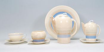 An early 20th Century Art Deco Susie Cooper bachel