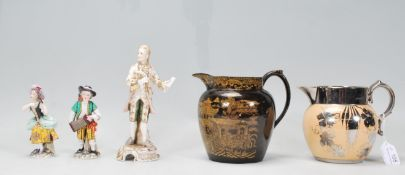 A small group of 20th Century mix ceramic wares to