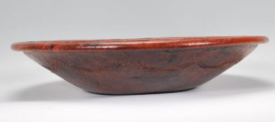 An early 20th Century Japanese terracotta wall cha
