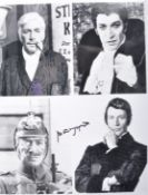 """PETER WYNGARDE - THE AVENGERS - AUTOGRAPHED 8X10"""" PHOTO"""