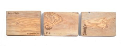 PETER WYNGARDE ESTATE - BANKSY INSPIRED OLIVEWOOD