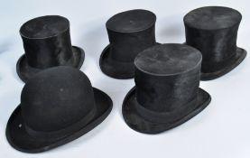 PETER WYNGARDE ESTATE - FIVE PROP / COSTUME HATS