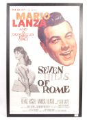 SEVEN HILLS OF ROME - 1958 - ORIGINAL MOVIE POSTER