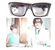 DEPARTMENT S & JASON KING (1971) PAIR OF SCREEN MATCHED GLASSES