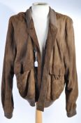 PETER WYNGARDE - UNKNOWN PRODUCTION - BROWN JACKET