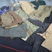 UNIFORM AND FANCY DRESS - A LARGE COLLECTION OF MILITARY AND SERVICES UNIFORMS.