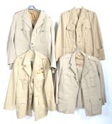 UNIFORMS & FANCY DRESS - A COLLECTION OF FOUR BRITISH AND FRENCH MILITARY ARMED FORCES JACKTES